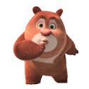 熊出没第二季微信表情包 小光头强!