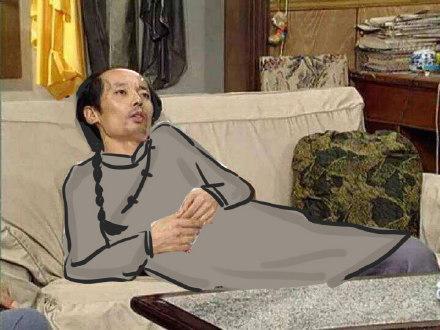 最新葛优躺沙发搞怪微信表情包 老衲吼不住啊!图片