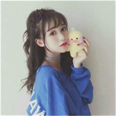 可爱激萌的小清新微信闺蜜头像