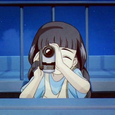 可爱小清新卡通的动漫女生微信头像