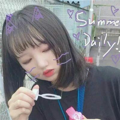 萌萌哒的妹子系列微信头像下载_可爱激萌妹子微信头像