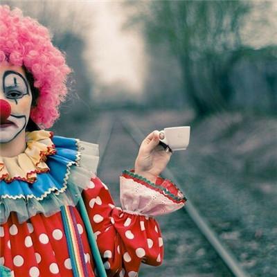 阴暗恐怖微信小丑头像下载_个性霸气小丑系列头像合集