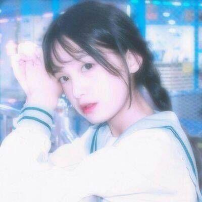 甜美小清新美女微信头像下载_可爱清纯萌妹子系列头像