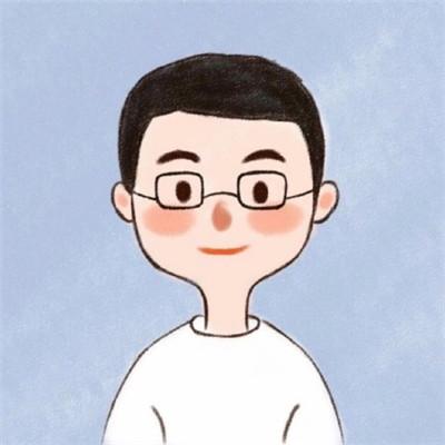 萌萌噠的二次元卡通情侶微信頭像下載
