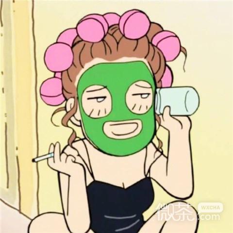 可爱搞怪微信卡通女生头像下载_激萌可爱二次元女生