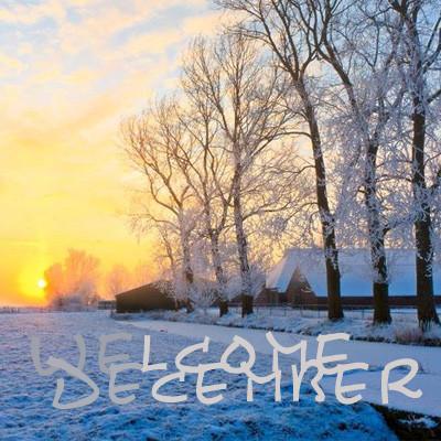 你好十二月系列微信励志暖心头像下载