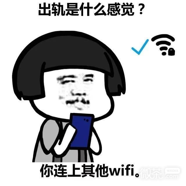 可爱搞笑wifi爱情蘑菇头系列微信表情包下载