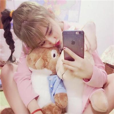 可爱粉色系小仙女系列微信头像下载