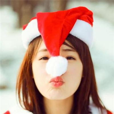 可爱小清新圣诞节主题微信女生头像合集下载