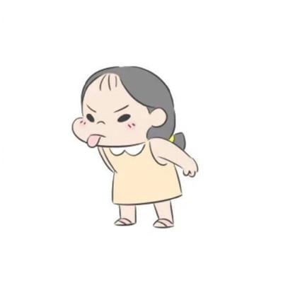 激萌可爱微信q版情侣头像套图下载_可爱小清新q版卡通