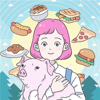 可爱卡通风格微信萌系情侣头像下载