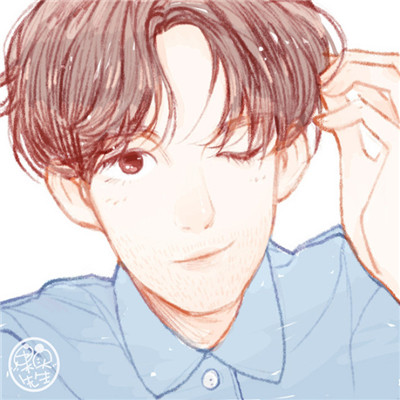 唯美小清新exo成员微信卡通手绘头像下载