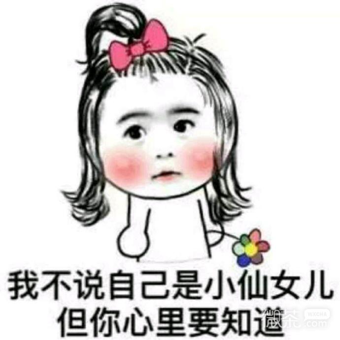 可爱搞笑小仙女系列微信恶搞表情包合集下载