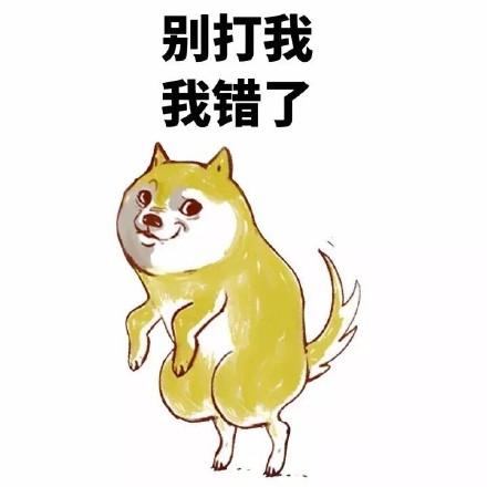 可爱萌萌哒的doge系列微信表情包合集下载