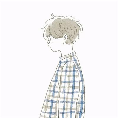 2018微信最新唯美简约风格卡通情侣头像合集下载_唯美