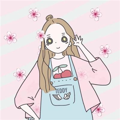 可爱萌萌哒的微信卡通风格闺蜜头像合集下载