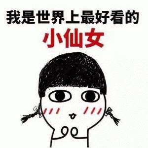 可爱萌萌哒的小仙女系列表情包合集下载_激萌可爱微信