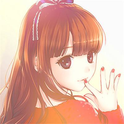 可爱萌系动漫二次元女生头像套图下载