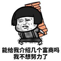2018微信最新蘑菇头求富婆表情包合集下载