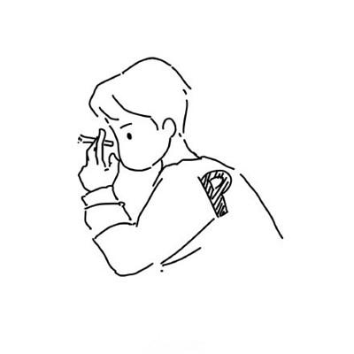 2018微信最新简单手绘风格男生头像合集下载