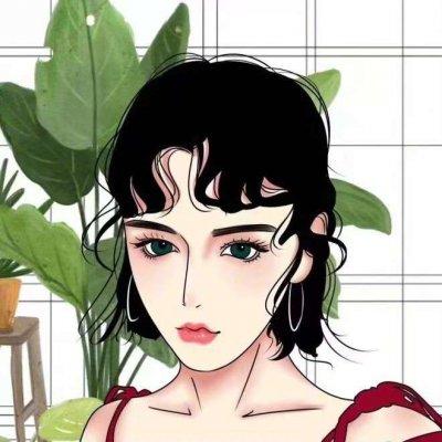 个性女生手绘微信头像