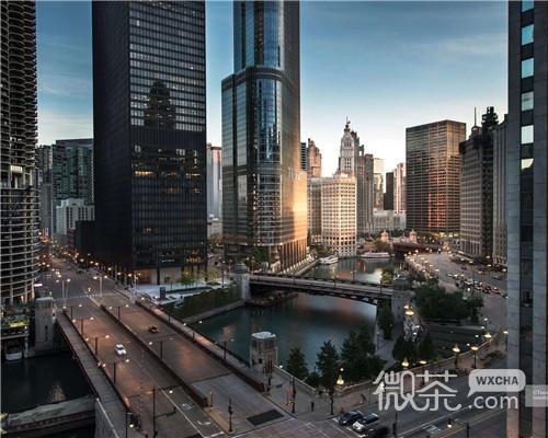 唯美城市夜景微信头像