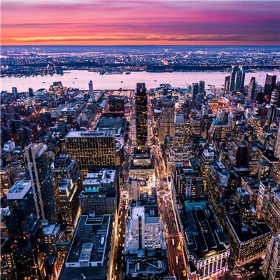 微信雨夜城市头像