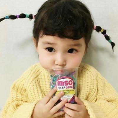 微信最新可爱女生萌娃头像
