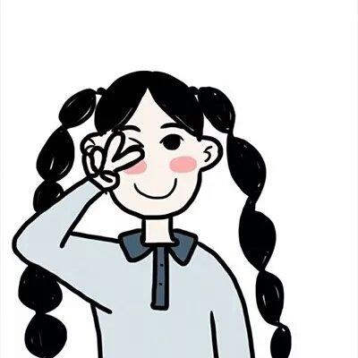 微信个性成熟卡通情侣头像
