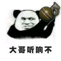 给大哥递东西微信熊猫头恶搞表情包图片