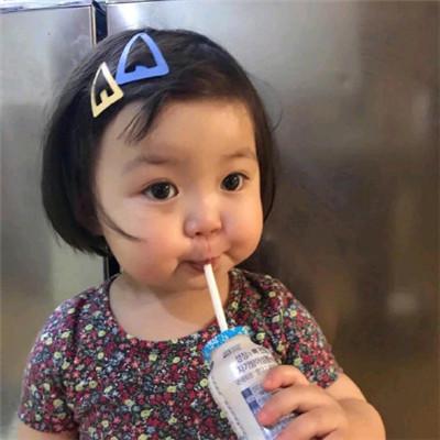 微信最火个性萌萌哒可爱萌娃头像