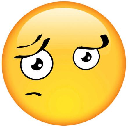 emoji大脸恶搞微信表情包图片