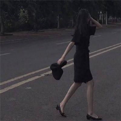 微信最新流行女生背影头像
