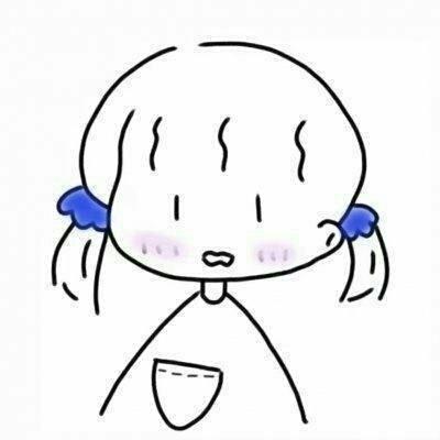 微信唯美个性简约手绘女生头像