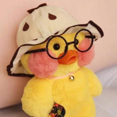 网红小黄鸭微信情侣头像