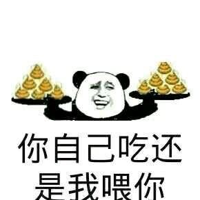 我不服微信熊猫头恶搞斗图表情包图片