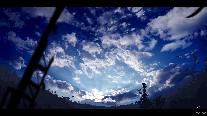 微信唯美好看梦幻二次元风景静物图片