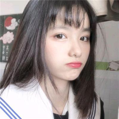 可爱激萌的微信甜美小清新女生头像下载