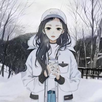微信梦幻文艺二次元女生头像