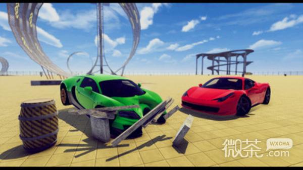 汽车坠毁模拟器